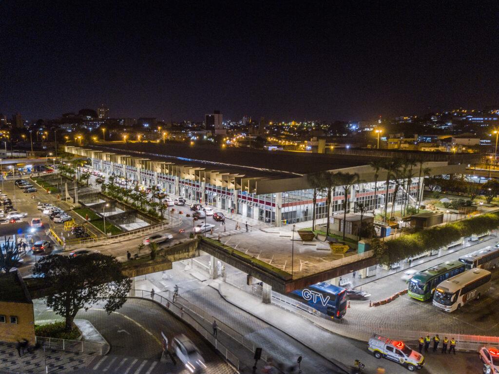 Cemig nas Cidades - Foto do terminal rodoviári