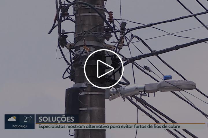 Série de reportagens alerta sobre transtornos causados pelo furto de cabos de cobre em Belo Horizonte